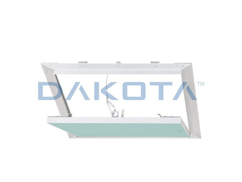 Plasterboard inspection chamber ALUHYDRO WHITE SENZA STUCCO by Dakota