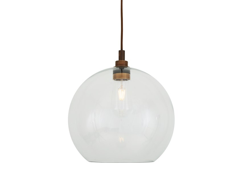 Handmade glass pendant lamp LEITH | Pendant lamp by Mullan Lighting
