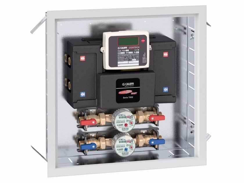 Mixing unit and manifold 7002 PLURIMOD EASY hydraulic module by CALEFFI