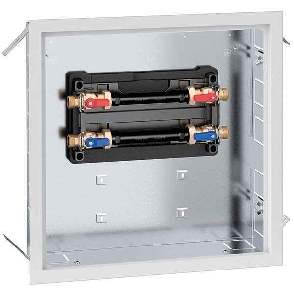 Mixing unit and manifold 7002 PLURIMOD® EASY user module by CALEFFI