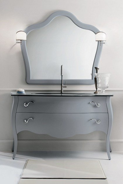 Single vanity unit with drawers 71 by RAB Arredobagno