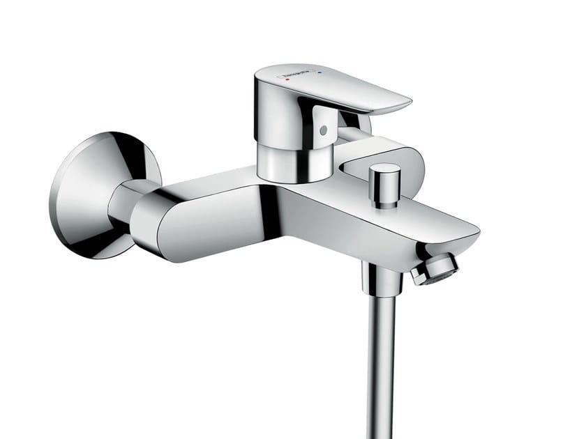 Wall-mounted external bathtub mixer TALIS E | External bathtub mixer by hansgrohe