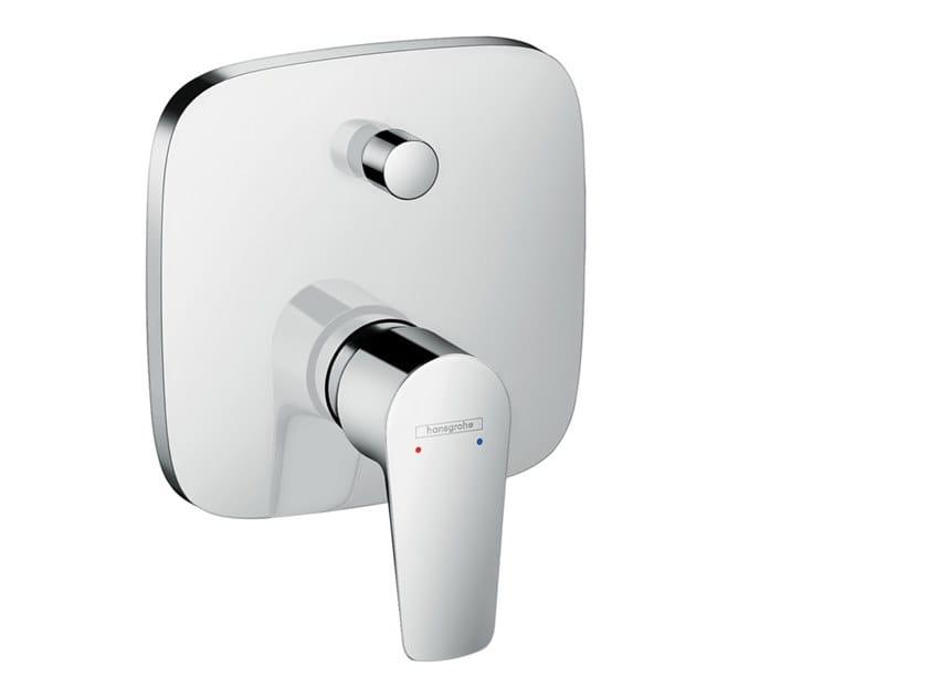 Wall-mounted Recessed bathtub mixer TALIS E | Recessed bathtub mixer by hansgrohe