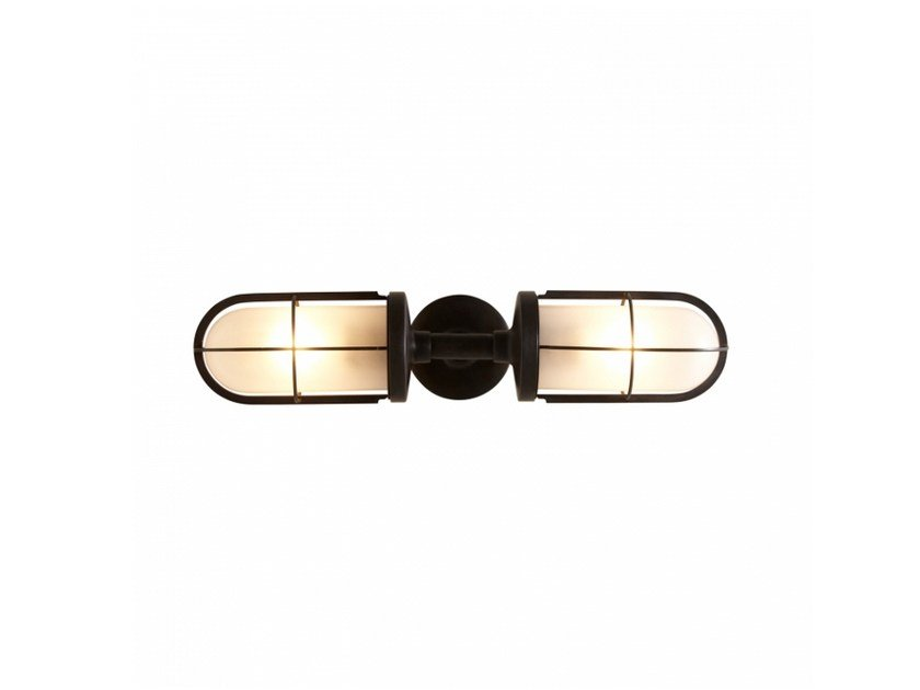 Glass wall lamp 7208 | Frosted glass wall lamp by Original BTC