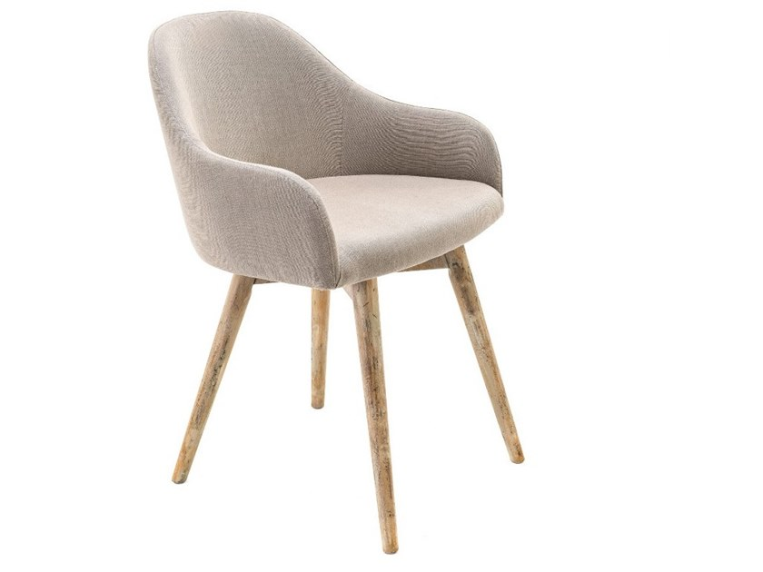 Upholstered fabric chair with armrests 7479   Chair by BUYING & DESIGN