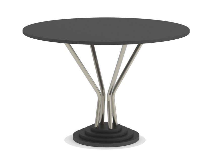 Dining table 748-Y | Round table by Adico