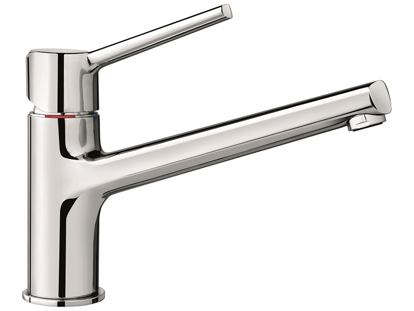 1 hole brass kitchen mixer tap with swivel spout 75007 | Kitchen tap with swivel spout by EMMEVI RUBINETTERIE