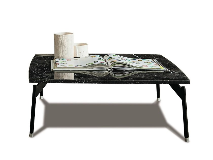 Rectangular marble coffee table 770 LEVEL | Coffee table by Vibieffe