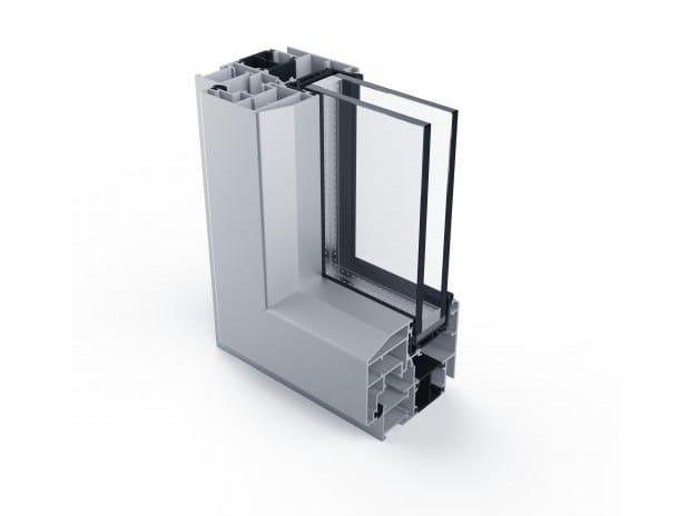 Aluminium window 77IR by ALUK Group