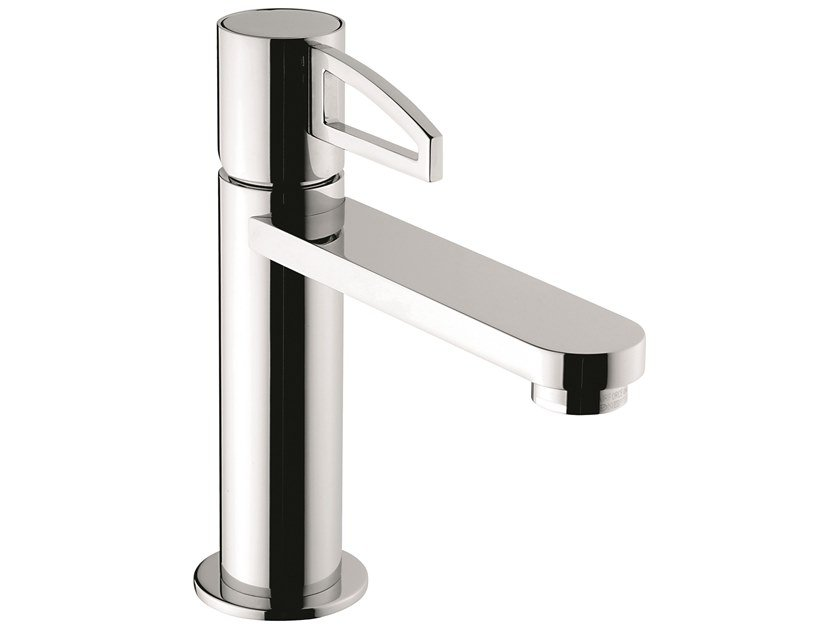 Countertop 1 hole brass washbasin mixer 78003LA | Countertop washbasin mixer by EMMEVI RUBINETTERIE