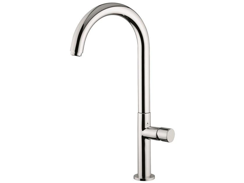 Countertop brass kitchen mixer tap with swivel spout 78046 | Kitchen mixer tap by EMMEVI RUBINETTERIE