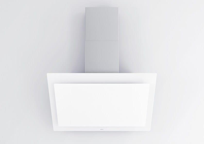 Cappa in vetro in stile moderno a parete 7831 Vision by NOVY