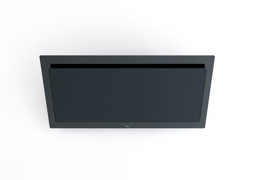 Contemporary style wall-mounted glass cooker hood 7848 Vision by NOVY