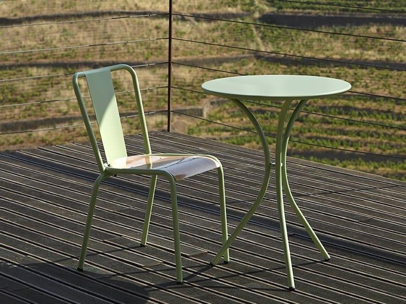 Sedia da giardino in metallo 786 - A   Sedia by Adico