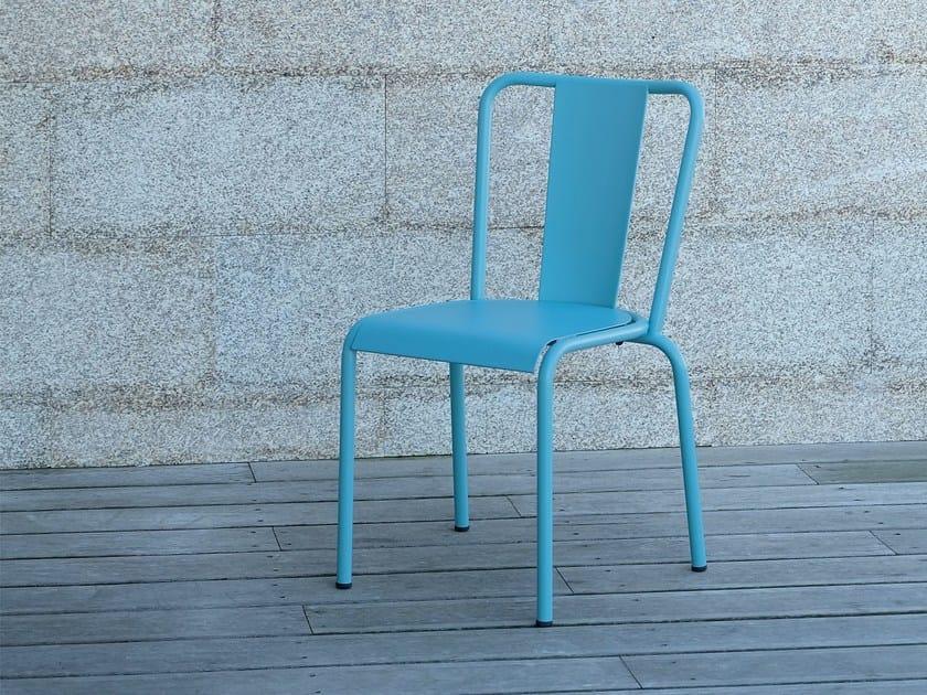 Metal garden chair 786 - A | Chair by Adico