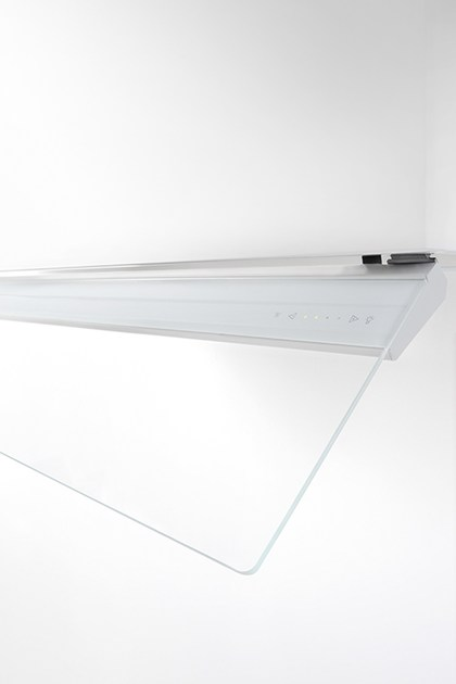 Contemporary style built-in glass cooker hood 787 Fusion plus by NOVY