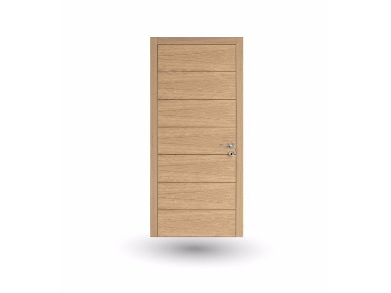 Hinged wooden door IMAGO 791i ROVERE GHIACCIO by GD DORIGO