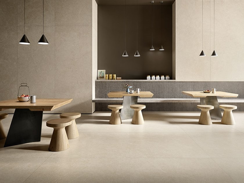 Porcelain stoneware wall/floor tiles with stone effect WIDE GRES 260
