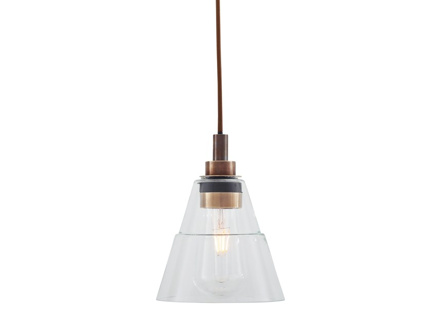 Handmade glass pendant lamp KAIRI | Pendant lamp by Mullan Lighting