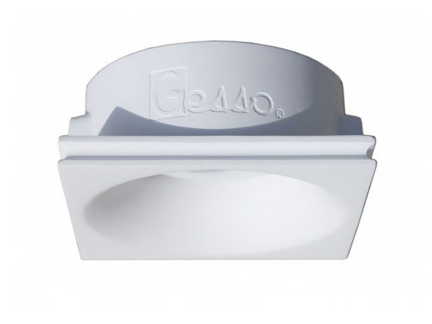 Ceiling built-in gypsum spotlight fixture CLOUD by GESSO