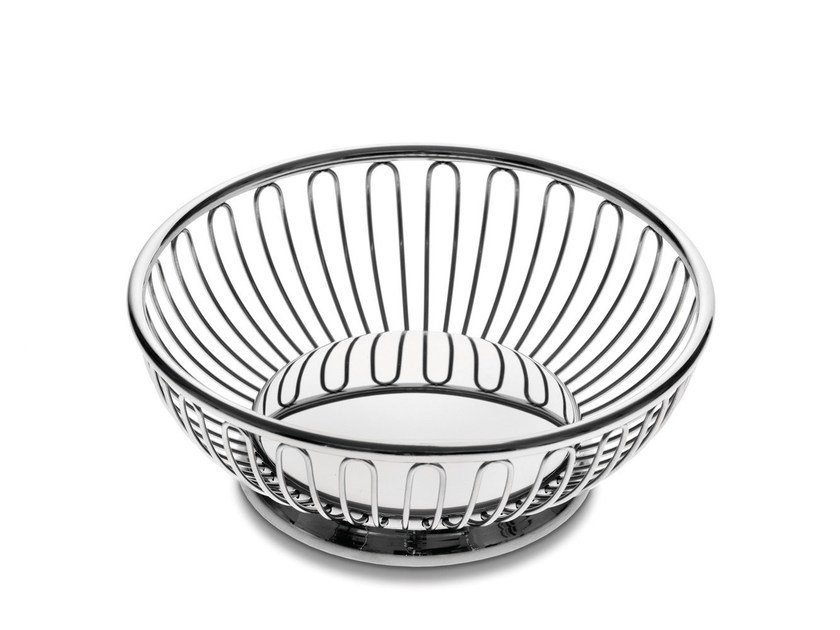 Stainless steel basket 826 | Basket by Alessi