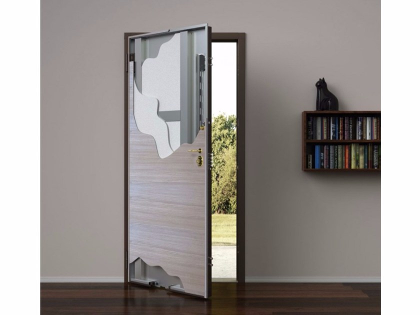 Safety door 83 | Safety door by Metalnova