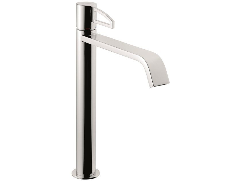 Countertop 1 hole brass washbasin mixer 83006LA | Countertop washbasin mixer by EMMEVI RUBINETTERIE