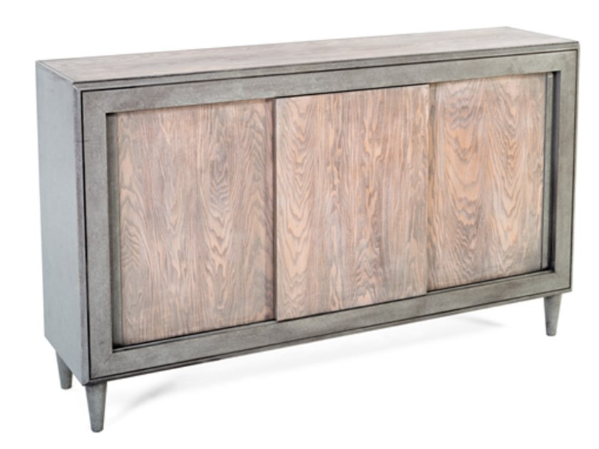 Wooden sideboard with sliding doors 8439 | Sideboard by BUYING & DESIGN