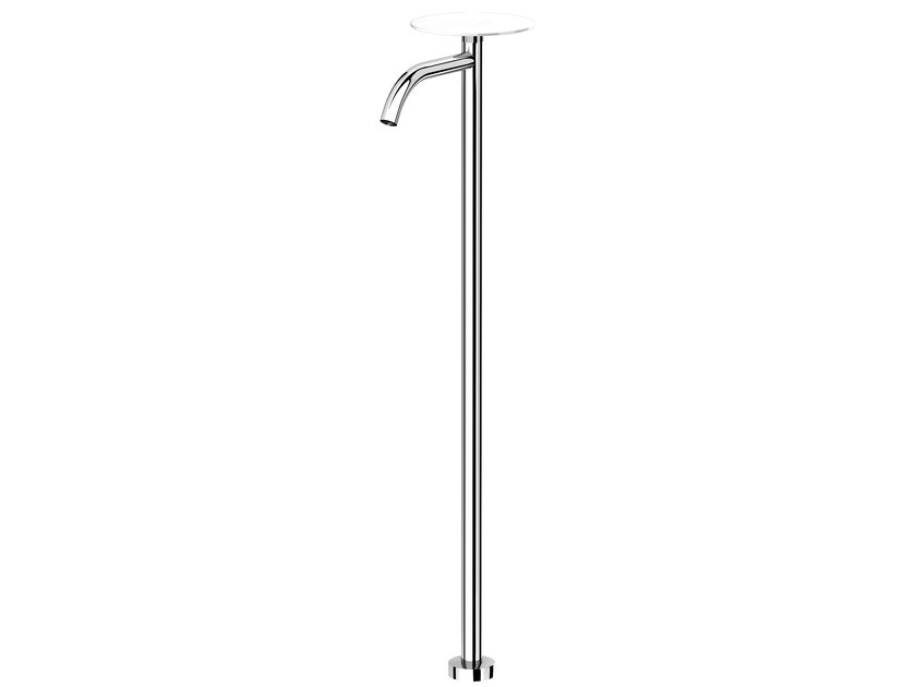Chrome-plated floor standing spout NEW CLEO 84  - 8443704 by Fir Italia