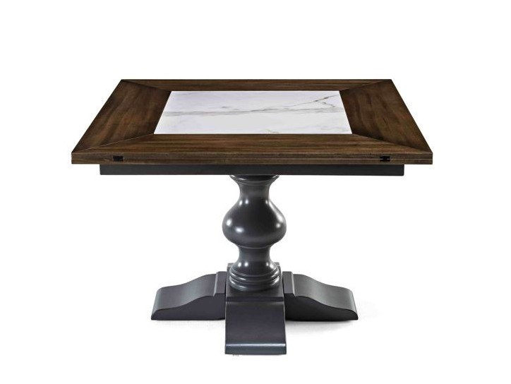 Square wooden table 8488 | Square table by BUYING & DESIGN