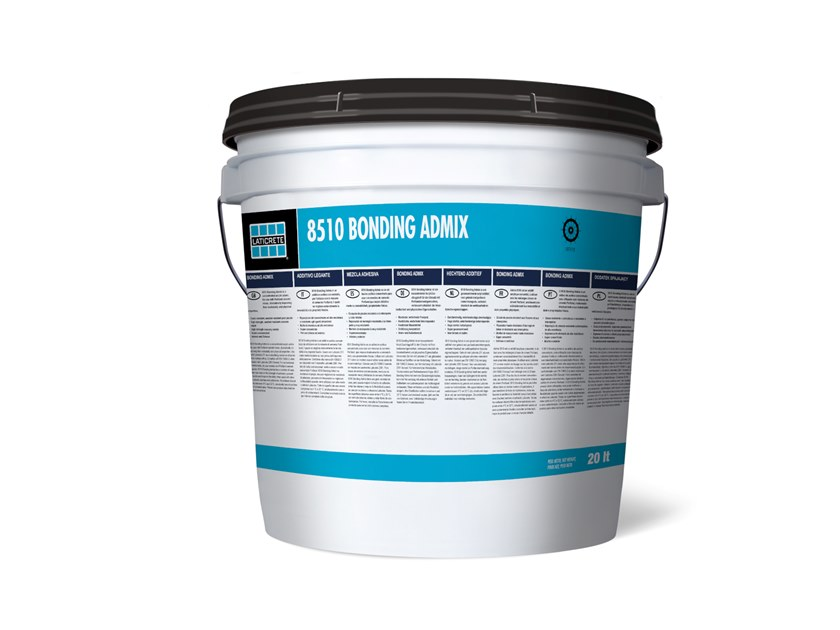 Additive For Cement And Concrete 8510 Bonding Admix Adhesives Mortars Collection By Laticrete