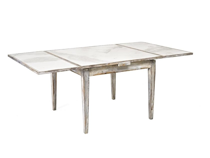 Extending rectangular porcelain stoneware table 8550 | Table by BUYING & DESIGN