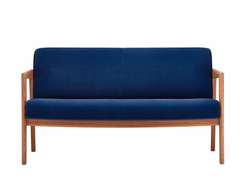 2 seater fabric sofa 862 F   Fabric sofa by THONET