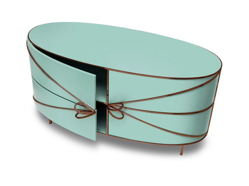 Lacquered sideboard with doors 88 SECRETS | Sideboard by Scarlet Splendour