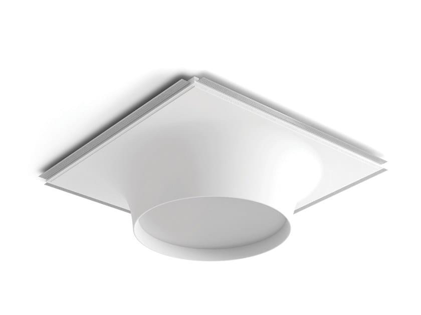 Lampada da soffitto a semi-incasso a LED in Cristaly® 8935C   Lampada da soffitto a semi-incasso by 9010 novantadieci
