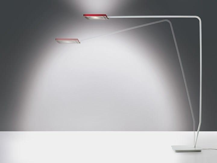 LED adjustable floor lamp 90° OFFICE by Artemide
