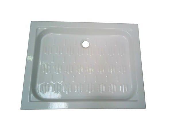 Anti-slip rectangular shower tray 90X70 | Shower tray by GALASSIA
