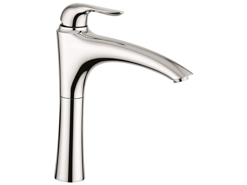 Countertop 1 hole brass washbasin mixer 91006 | Countertop washbasin mixer by EMMEVI RUBINETTERIE
