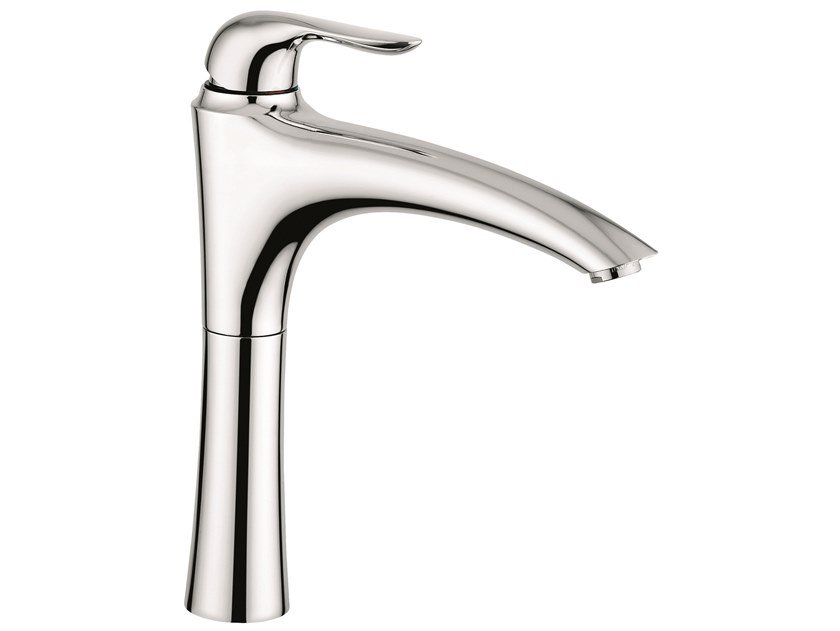 Countertop 1 hole brass kitchen mixer tap with swivel spout 91097 | Kitchen mixer tap by EMMEVI RUBINETTERIE