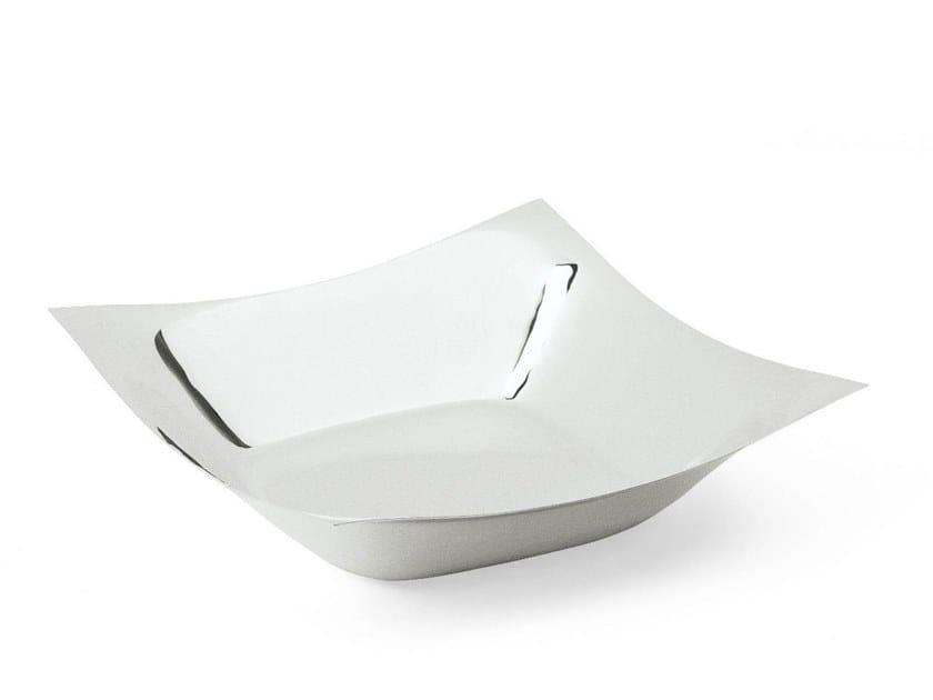 Silver plated bowl GREGGIO | Serving bowl by RINO GREGGIO ARGENTERIE