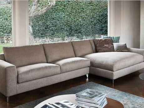 Fabric sofa with chaise longue 920 ZONE COMFORT | Sofa with chaise longue by Vibieffe