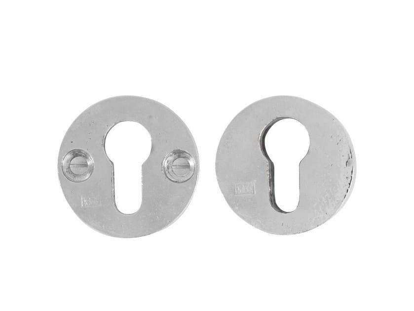Round keyhole escutcheon PURE 9395 by Dauby