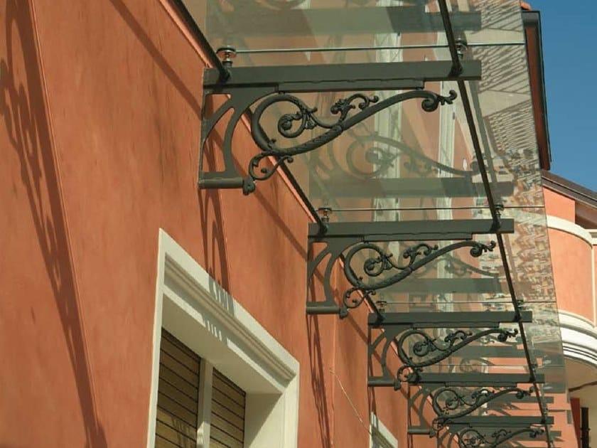 Cast iron door canopy 9400.0001GS | Door canopy by Modus