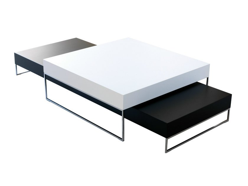 Lacquered coffee table 9500 - 039 by Vibieffe