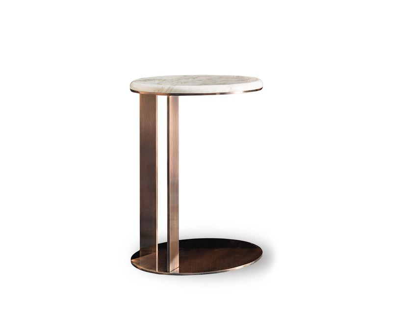 Lacquered round wooden coffee table 9500 - 7 | Lacquered coffee table by Vibieffe