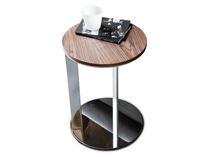 Round wooden coffee table 9500 - 7 | Side table by Vibieffe