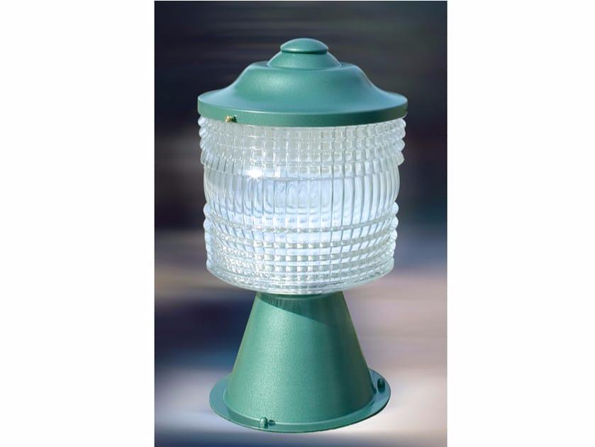 Metal bollard light 955 GM | Bollard light by Jean Perzel