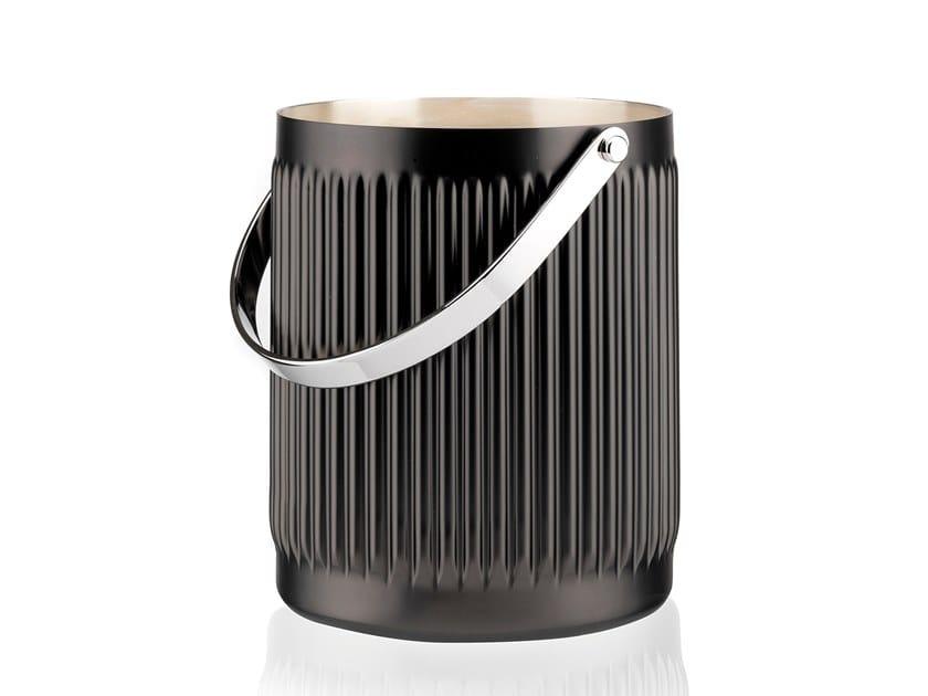 Silver plated ice bucket ELECTRO BRERA | Ice bucket by RINO GREGGIO ARGENTERIE