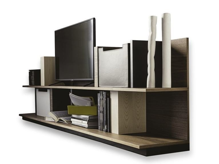 Wooden bookcase 9800 ALA | Bookcase by Vibieffe