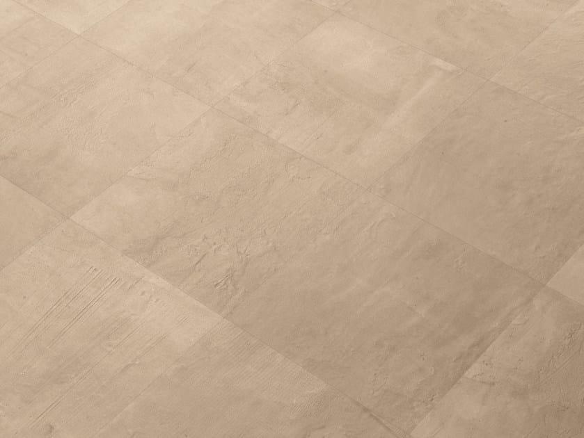 Indoor/outdoor porcelain stoneware wall/floor tiles 99 VOLTE CREMA by Viva by Emilgroup